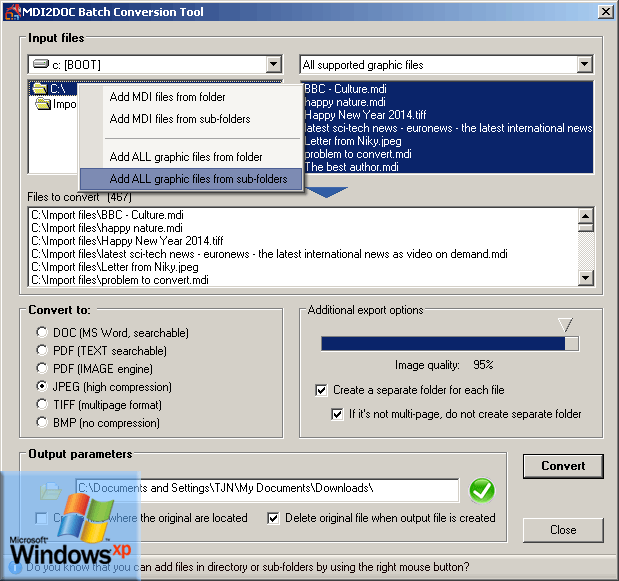 pdf to doc converter free download for windows xp